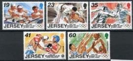 Jersey, michel 742/46, xx