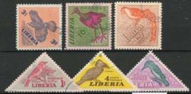 Liberia, michel 450/55 , o