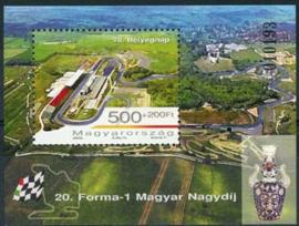 Hongarije, michel blok 302, xx