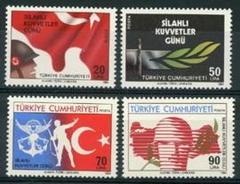 Turkije, michel 2687/90, xx