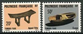 Polynesie, michel p 8/9, xx
