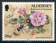Alderney, michel 102 A, xx
