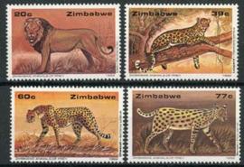 Zimbabwe, michel 472/75, xx