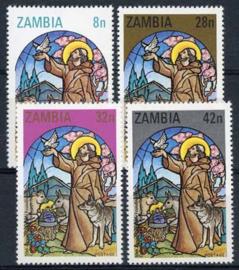 Zambia, michel 237/40, xx