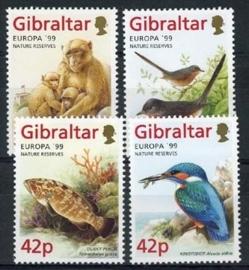 Gibraltar, michel 852/55, xx