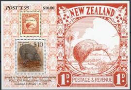 N.Zeeland, michel blok 47, xx