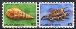 Samoa, michel 413/14, xx