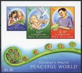 N.Zeeland, michel blok 217, xx
