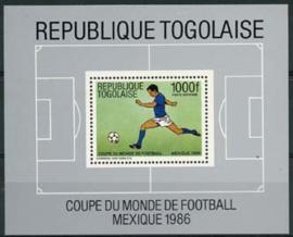 Togo, michel blok 287, xx