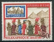 Tchad, michel 219, xx