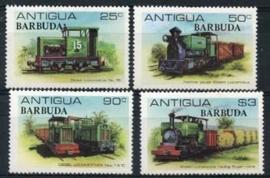 Barbuda , michel 525/28 , xx