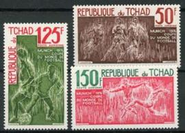 Tchad, michel 700/02, xx