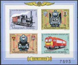 Hongarije, michel blok 139 B, xx