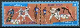 Frankrijk, michel 3481/82, xx