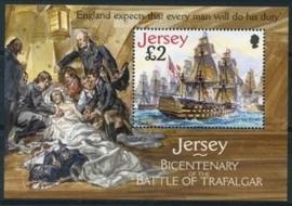 Jersey , michel blok 52 , xx