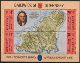 Guernsey, michel blok 4 , xx