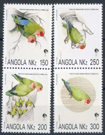 Angola, michel 891/94, xx