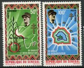 Senegal., michel 444/45, xx