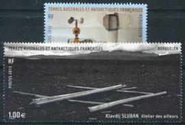 Antarctica Fr., michel 835/36, xx