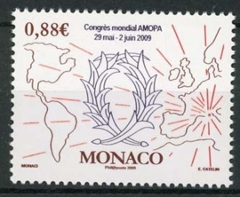 Monaco , michel 2928, xx