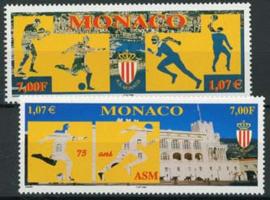 Monaco, michel 2447/48, xx