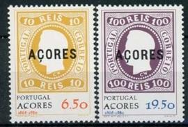 Azoren, michel 334/35, xx