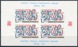 Tsjechoslowakije, michel blok 34, xx