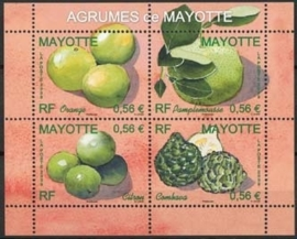 Mayotte, michel blok 12, xx