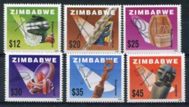 Zimbabwe, michel 722/27, xx