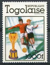 Togo, michel 1282 A, xx