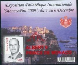 Monaco , michel blok 96, xx