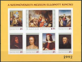 Hongarije, michel blok 170 B, xx