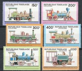 Togo, michel 2487/92, xx