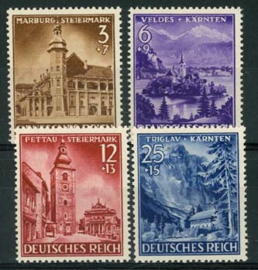 Duitse Rijk, michel 806/09, xx