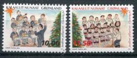 Groenland, michel 681/82, xx