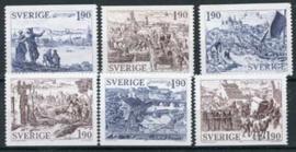 Zweden, michel 1292/97, xx