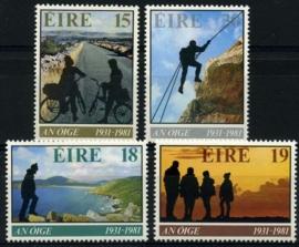 Ierland, michel 441/44, xx