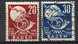Baden, michel 56/57, o