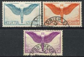 Zwitserland, michel 189/91 , o