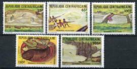 Centrafricaine, michel 995/99, xx