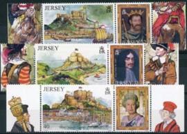 Jersey, michel 1137/42, xx