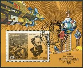 Hongarije, michel blok 133 A, o