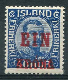 IJsland, michel 121, x