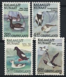 Groenland, michel 191/94, xx