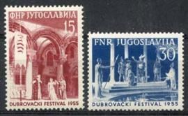 Joegoslavie, michel 761/62, xx
