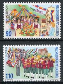 Liechtenstein, michel 1165/66, xx