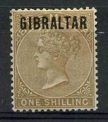 Gibraltar , michel 7 , x
