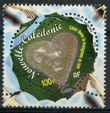 N.Caledonie, michel 1206, xx