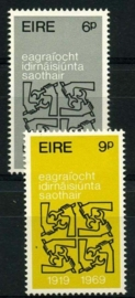 Ierland, michel 232/33, xx