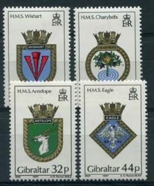 Gibraltar, michel 521/24, xx